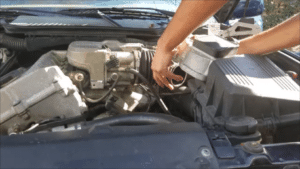 BMW E36 4 Cylinder Intake Removal