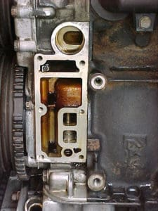 bmw e36 oil leak filter housing