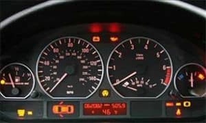how to diagnose rough idle instrument cluster