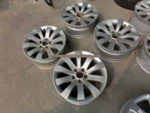 how to part out a car rims
